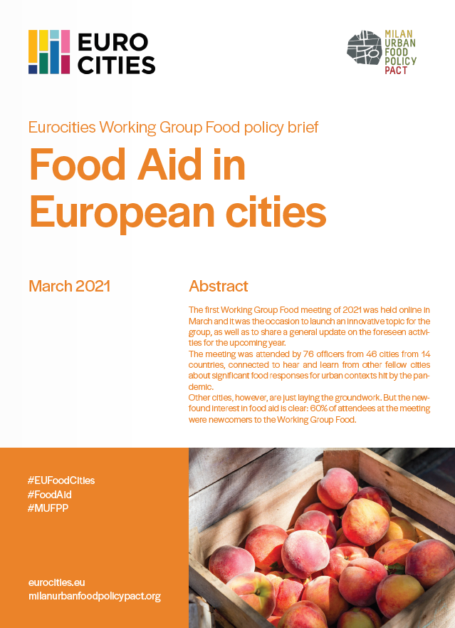 Food Aid in European cities